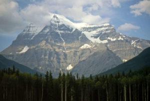 Mont Robson au Canada